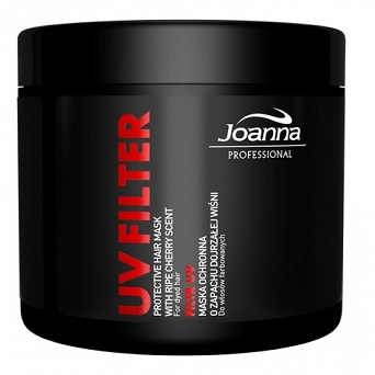 JOANNA UV FILTER Maska do włosów 500g