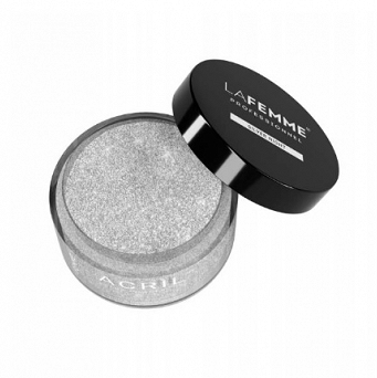 Puder akrylowy  z brokatem 18g SILVER NIGHT
