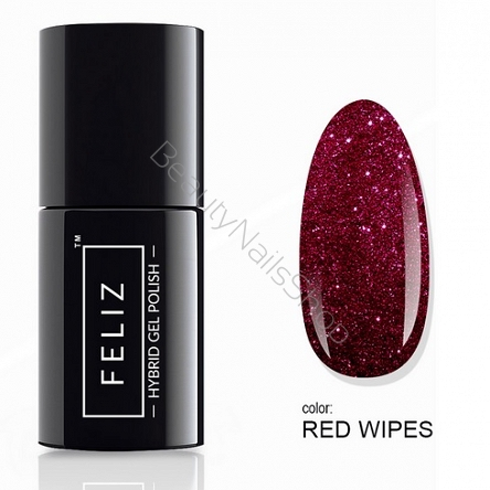Feliz Lakier hybrydowy Red Wipes 6ml