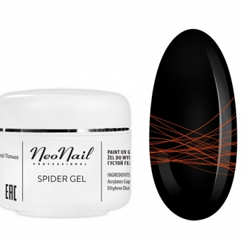 NeoNail Spider Gel Neon 5G - (6992) NEON ORANGE
