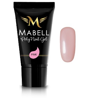 MABELL Poly Nail Gel Acrylic Akrylo Żel 30g PINK