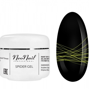 NeoNail Spider Gel Neon 5G - (6991) NEON YELLOW