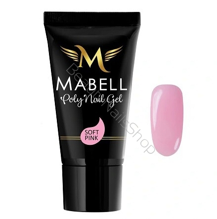 Akrylożel Mabell Gel Poly Soft Pink 30ml