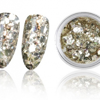 Magic Mirror Effect Powders Sequins - 10