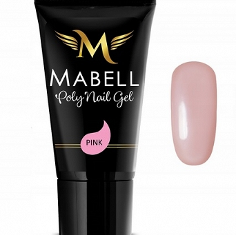 Akrylożel MABELL Poly gel   Acrylic 30g PINK